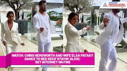 Watch Chris Hemsworth and wife Elsa Pataky dance to Bee Gees' Stayin' Alive; set internet on fire-tgy
