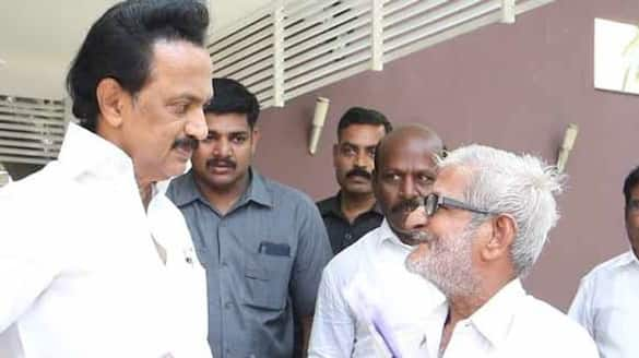 MK Stalin condolences on the death of traffic Ramasamy