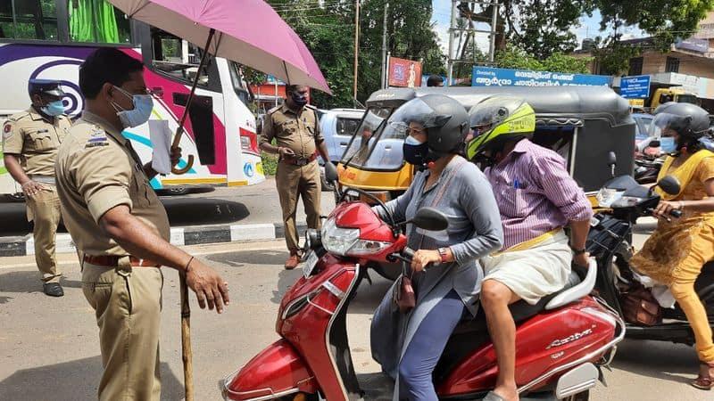 Karnataka Police Dept green Signal to using vehicle For daily needs during Lockdown rbj