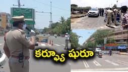 Curfew started in Vijayawada