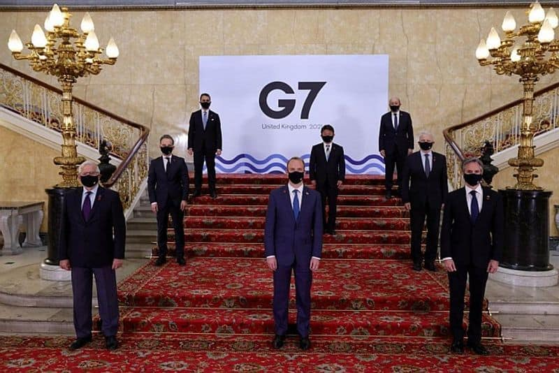 Two members of Indian G7 delegation in UK test Covid positive Reports pod