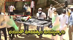 Tirupathi mla done to covid orphans' bodies  Funerals
