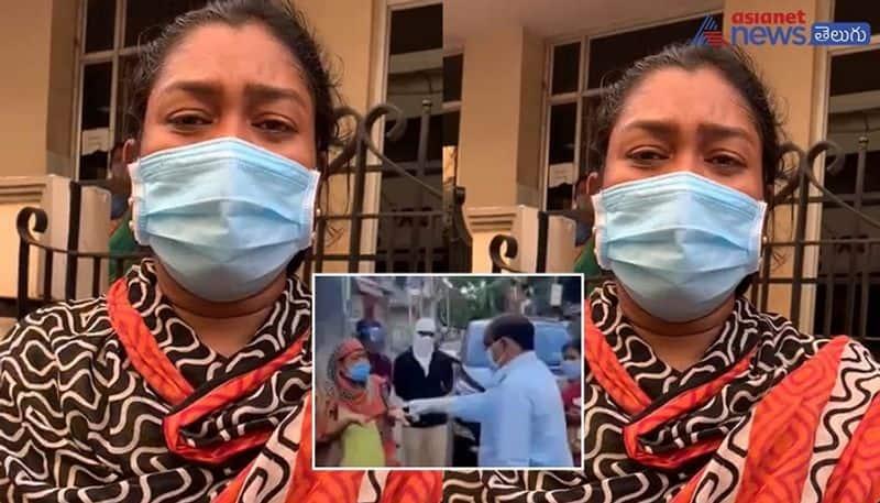 rajahmundry ycp city coordinator akula satyanarayana firing on corona patients - bsb