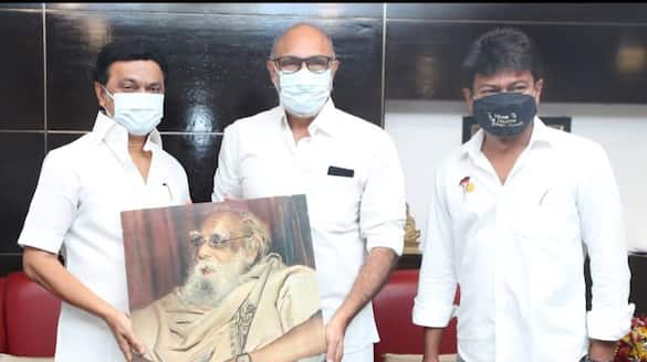 Congratulations to Stalin for giving Periyar a image- actor Sathyaraj teasing bjp victory.