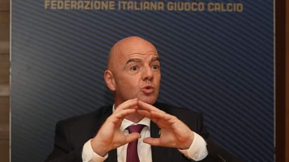 FIFA chief Gianni Infantino about European Super League clubs sanctions