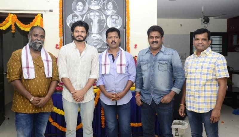 anand devarakonda new movie with k v guhan started  arj
