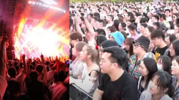 after covid pandemic Thousands of revelers attend Wuhan music festival