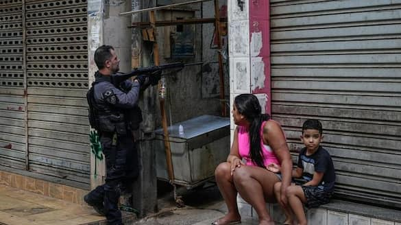 Brazil At least 25 killed in Rio de Janeiro shoot out