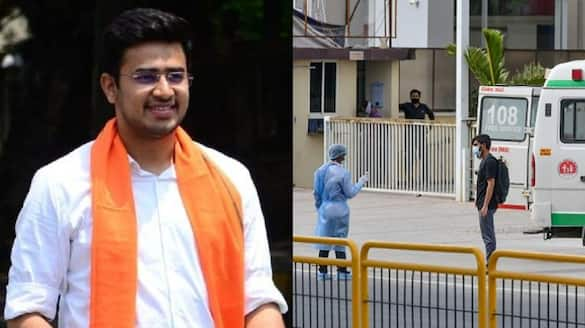 bangalore South MP Tejasvi Surya apologises to Bengaluru war room staff