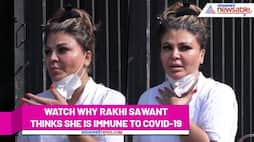 Rakhi Sawant thinks she won't contract COVID-19; here's why - gps