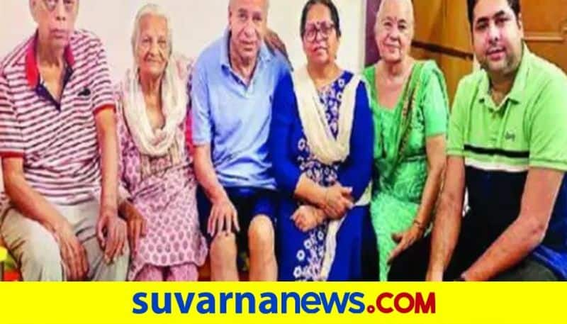 Lucknow 100 year old grandmother of diabetes and BP beats covid 19 at home dpl