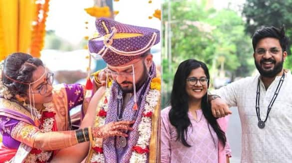 Bride And Groom Exchanged Mangalsutras