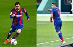 <p>Barcelona vs Atletico</p>