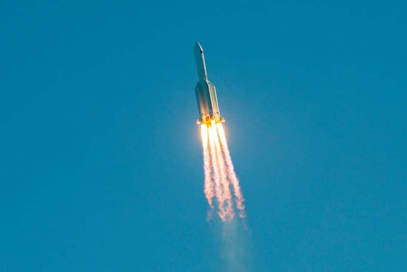chines rocket reentered and fall right over the Maldives