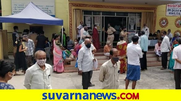 Long Lines Information Of vaccine centres in karnataka pod