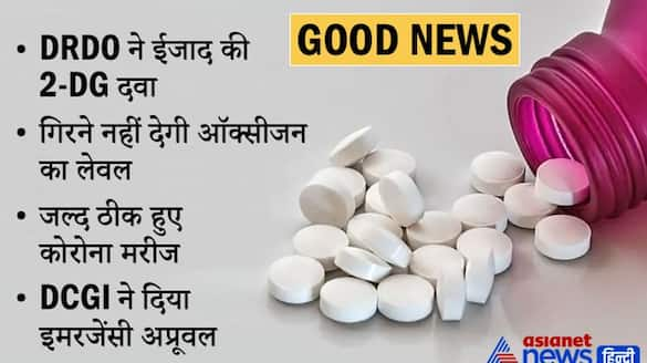 Good news, DRDO drug got emergency approval, very effective in treating corona patients KPA