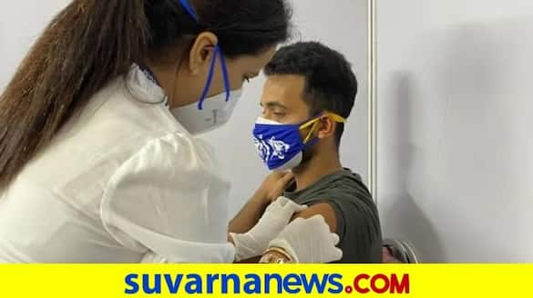 Team India Cricketer Ajinkya Rahane gets vaccinated in Mumbai kvn