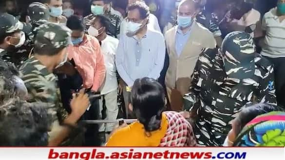 Central team visits Nandigram to monitor the post poll violence in WB RTB