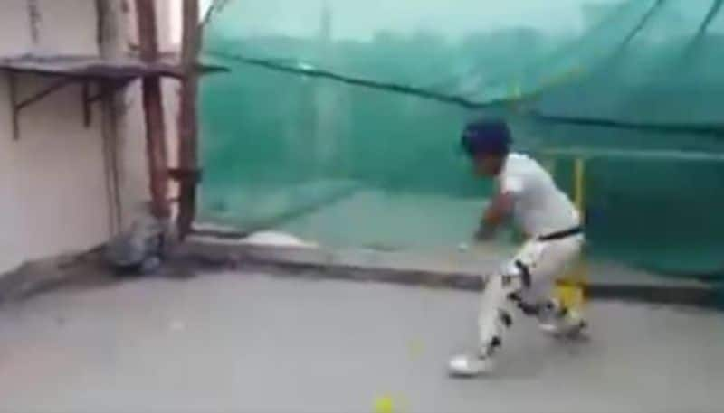 little boy hits every cricket shot with wicket stump, video goes viral CRA