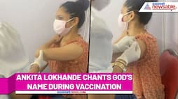 Ankita Lokhande cries during COVID-19 Vaccination; watch video - gps