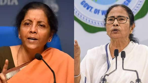 FM Nirmala Sitharaman replies to Mamata Banerjee's letter to PM Modi in 16 tweets  bsm