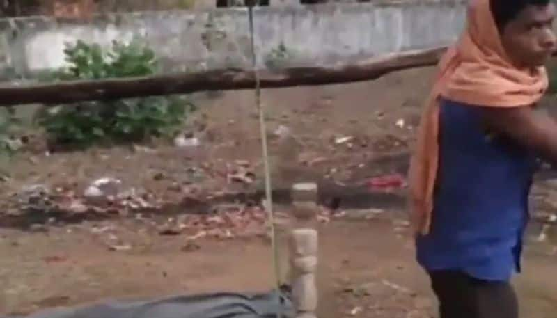 Man Walks With Daughter's Body On Cot For 35 Km In Madhya Pradesh