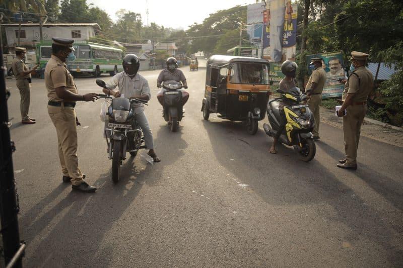 Vijayawada police arrested 169 for violating 18 hour curfew rules lns
