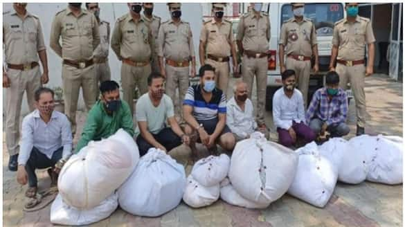 7 held for stealing clothes off bodies selling them