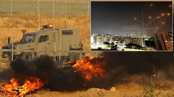 Israel Palestinian conflict, Israel hits rocket on Gaza Strip, 20 killed, 170 injured kpa