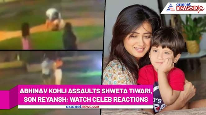 Abhinav Kohli assaults Shweta Tiwari, actress shares chilling footage of physical violence; Watch video - syt