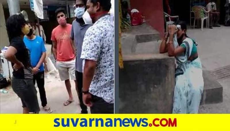 Bengaluru Shocking dog Kills labour in daylight mah