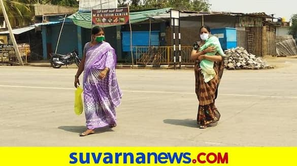 Mother Faces Problems for Get Treatment to Her Child in Koppal due to Lockdown grg