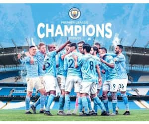 Manchester City became the 5th time Premier League champions spb