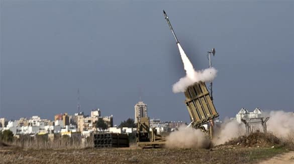 palestine israeli conflict: What is Israel Iron Dome? how it works dva