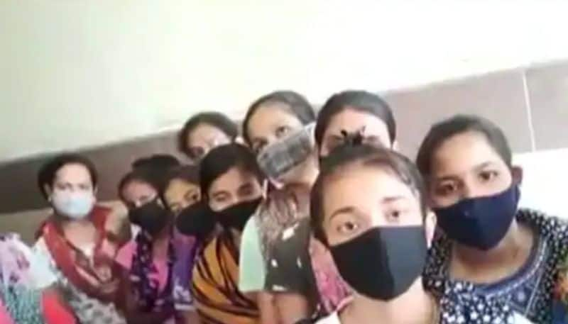 Nursing students they stranded in karnataka colleges reached kerala