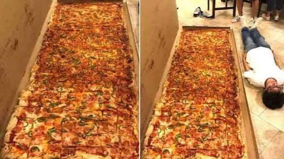 The Picture Of Biggest Pizza goes viral