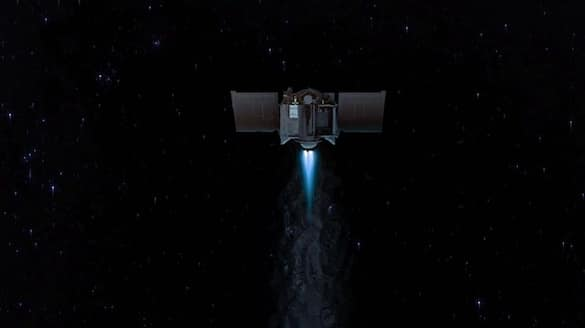NASA spacecraft returning to Earth with asteroid rubble-VPN