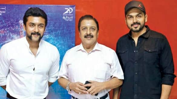 suriya and karthi donate one crore for tn cm relief fund fight against corona  arj
