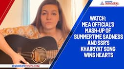 Watch: MEA official's mash-up of Summertime Sadness and SSR's Khairiyat song wins hearts