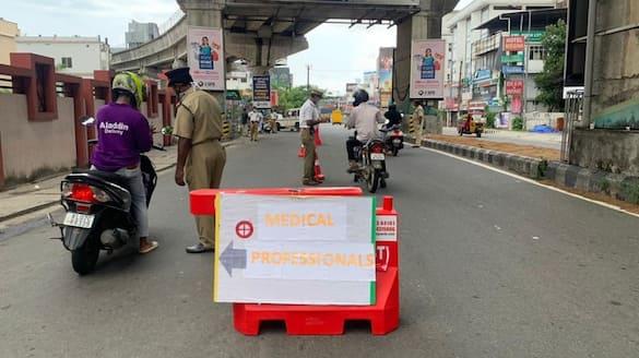 Chennai single day lockdown violation case details