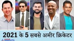 Virat Kohli to Sachin Tendulkar, Top 5 Richest cricketers in 2021 dva