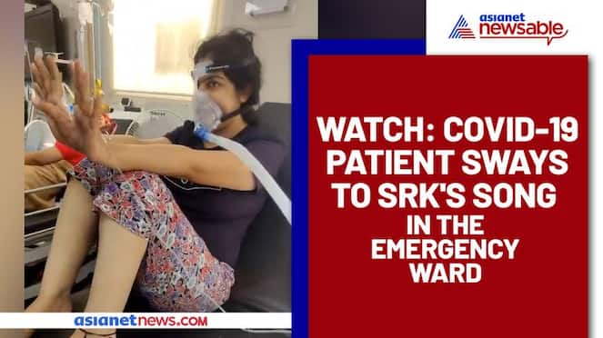 Doctor Plays Shah Rukh Khan's song 'Love You Zindagi' to Cheer Covid-19 Patient; Watch Video - gps