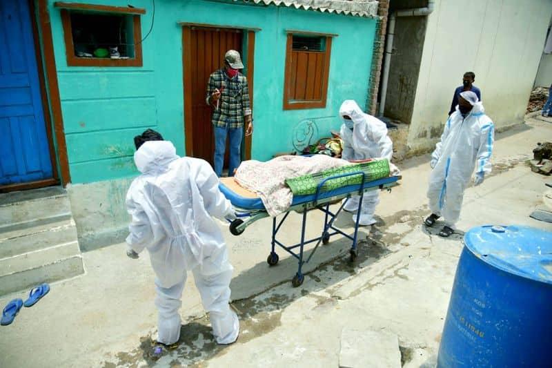 Koppal Gavi Matha accomplish covid death woman funeral mah