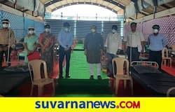 <p>ಶಿಗ್ಗಾಂವಿಯ ಸಚಿವರ ನಿವಾಸದಲ್ಲಿ 50 ಹಾಸಿಗೆಯ ಕೇರ್ ಸೆಂಟರ್</p>