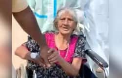 <p>old woman battled covid</p>