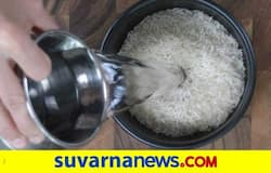<p>soaking rice</p>