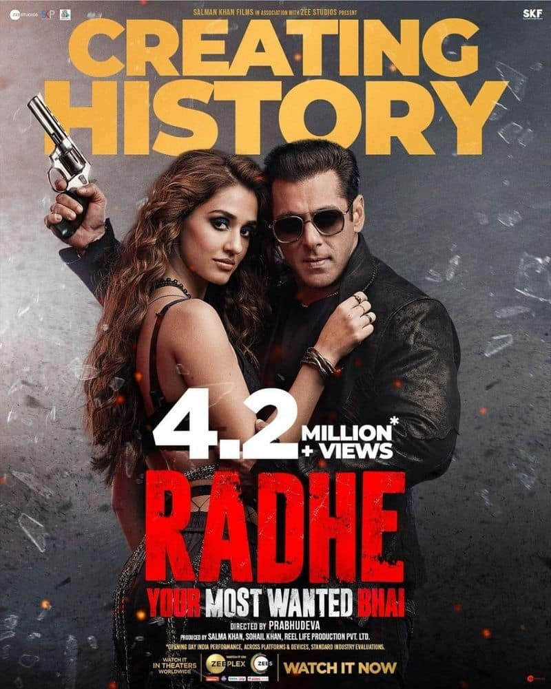 Salman Khan Radhe Movie first day collections jsp