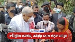 Governor visit Nandigram to meet those people who affected by post-poll violence PNB