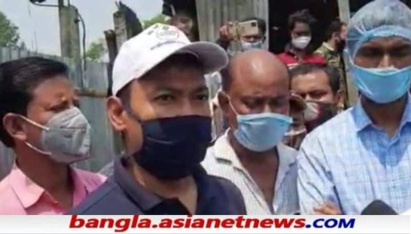 The BDO of Hemtabad came to the spot after committing suicide in Uttar Dinajpur RTB