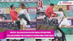 Radhe star Salman Khan saves Disha Patani during the film shooting (Watch here) - gps
